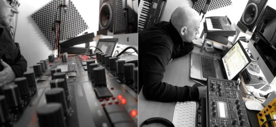 Haujobb Studio Work